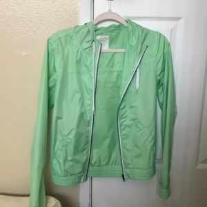 Zumiez mint green windbreaker